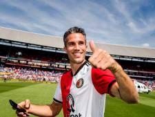 Van Persie als spitsentrainer terug bij Feyenoord: 'Geen officiële functie'