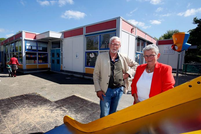Bert-Jan Kollmer en Gerda Mulder. ,,We gaan uit van de interesses en talenten van de leerling.''