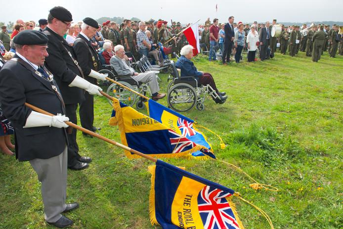 Herdenking op 19 september 2014 op de Renkum Heide .
