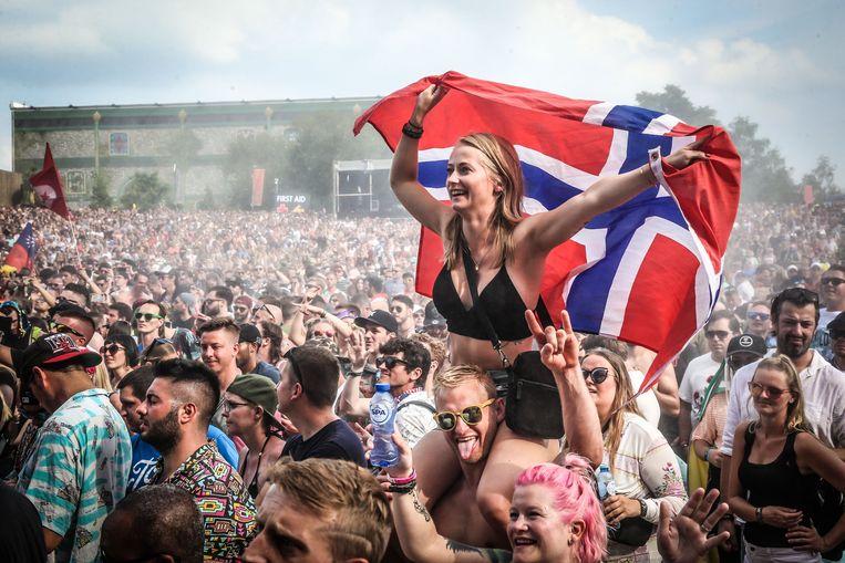 Een beeld vanop Tomorrowland 2019 Beeld Photo News