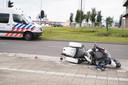 De vrachtwagenchauffeur is na het fatale ongeluk doorgereden.