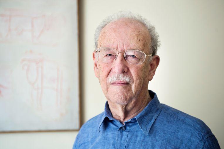 De sinoloog en schrijver Kristofer Schipper, die deze week overleed. Beeld Sanne De Wilde