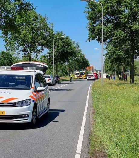 Motorrijder verongelukt bij eenzijdig ongeval in Hengelo