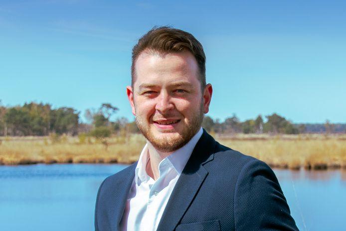 Stefan Haes (30) is net verkozen als voorzitter van Vlaams Belang Kalmthout.