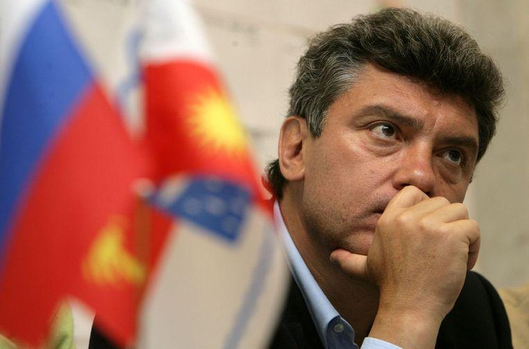 Boris Nemtsov Beeld afp