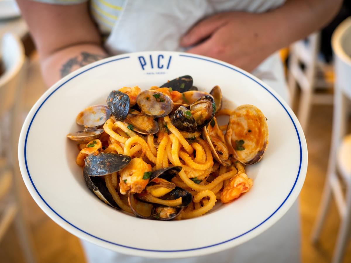 PICI pasta opent een tweede restaurant in de Muntstraat.