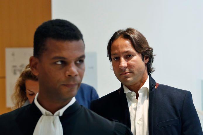 Rani Saïdi, de lijfwacht van de prinses,  was aanwezig in de rechtszaal. Hij krijgt een voorwaardelijke celstraf van acht maanden.