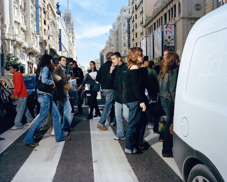 Madrid, Spanje Beeld Poike Stomps