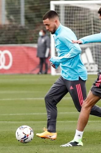Eden Hazard opnieuw in selectie bij Real Madrid voor match tegen Granada