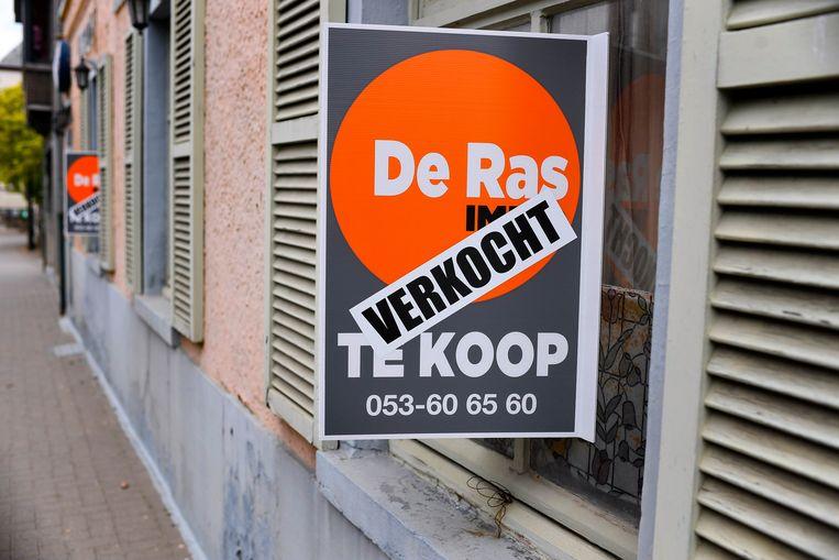 Een verkochte woning in Gent. Beeld Photo News