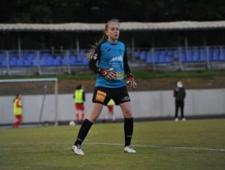 """Stand-in Lisa Vandeputte voor Silke Baccarne (Eendracht Aalst Ladies): """"Ik kon de ploeg toch niet in de steek laten"""""""