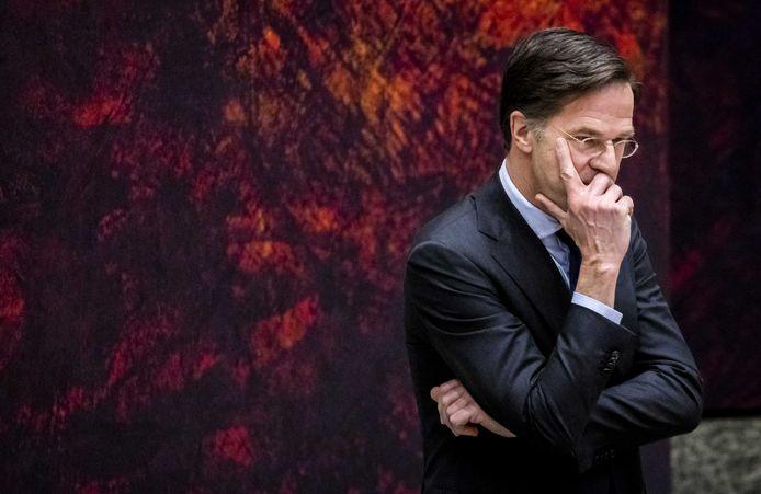 Mark Rutte sprak na het debat over Pieter Omtzigt over het herstellen van vertrouwen.