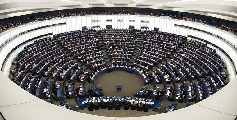Het Europees Parlement in Straatsburg Beeld epa