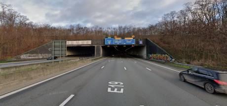 Craeybeckxtunnel vannacht afgesloten voor onderhoudswerken richting Brussel