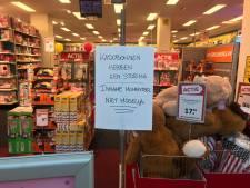 Intertoys in Overvecht even dicht vanwege stormloop klanten met cadeaukaarten