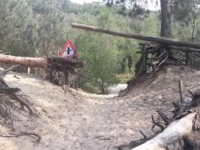 Mountainbiker gewond door gespannen staalkabel in bos Ossendrecht: 'Erg zorgwekkend'