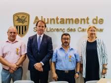Mallorcanen dubbel onderscheiden voor redden van kwartet uit Oss en Reek tijdens noodweer op eiland