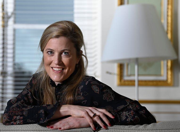 Minister van Binnenlandse Zaken en Institutionele Hervormingen Annelies Verlinden (CD&V). Beeld Photo News