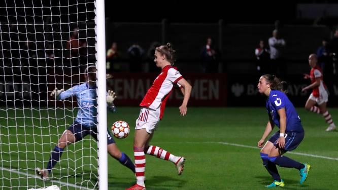 Miedema en Van de Donk scoren tijdens Champions League-zeges, Martens geeft assist
