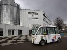 Kunnen we snel in een robotbus door de stad rijden?