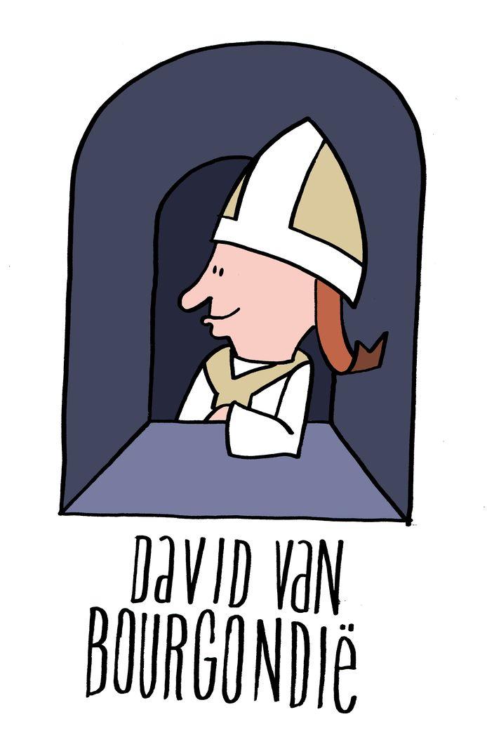 David van Bourgondië, bisschop van Utrecht, resideerde in de 15de eeuw op kasteel Duurstede