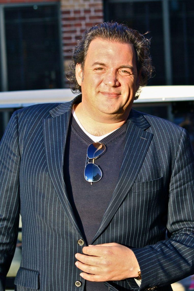 Marc van Rijen, uitgever van magazine Glamsterdam  <br /> Beeld null