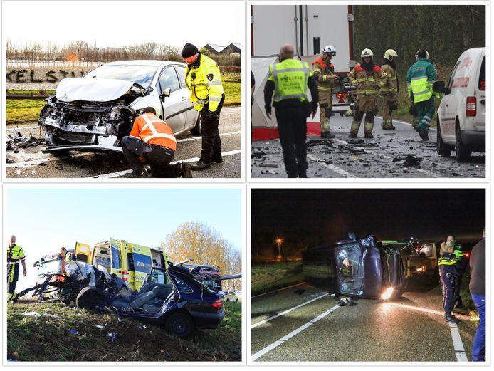 Op verschillende stukken van de N279 zijn door de jaren heen veel zware ongelukken gebeurd. Daarbij vielen helaas ook dodelijke slachtoffers te betreuren.