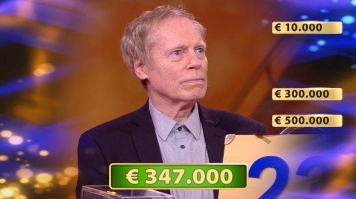 John won een bedrag van 347.000 euro.