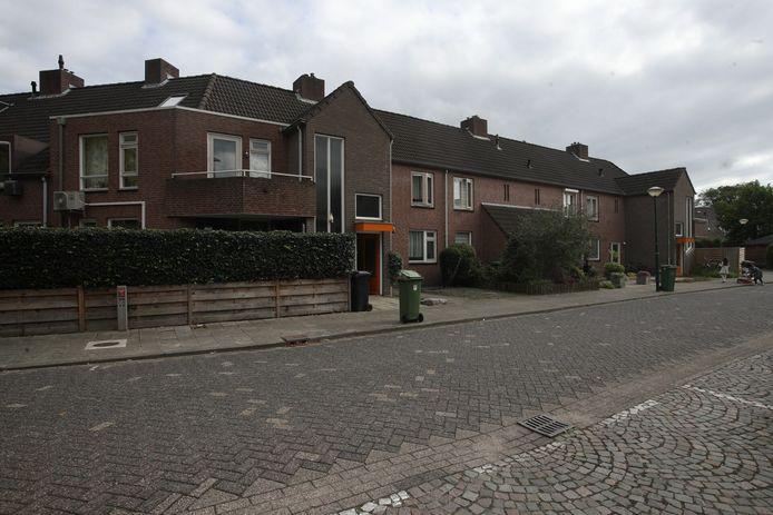 Rij Vestia-woningen in Bergeijk