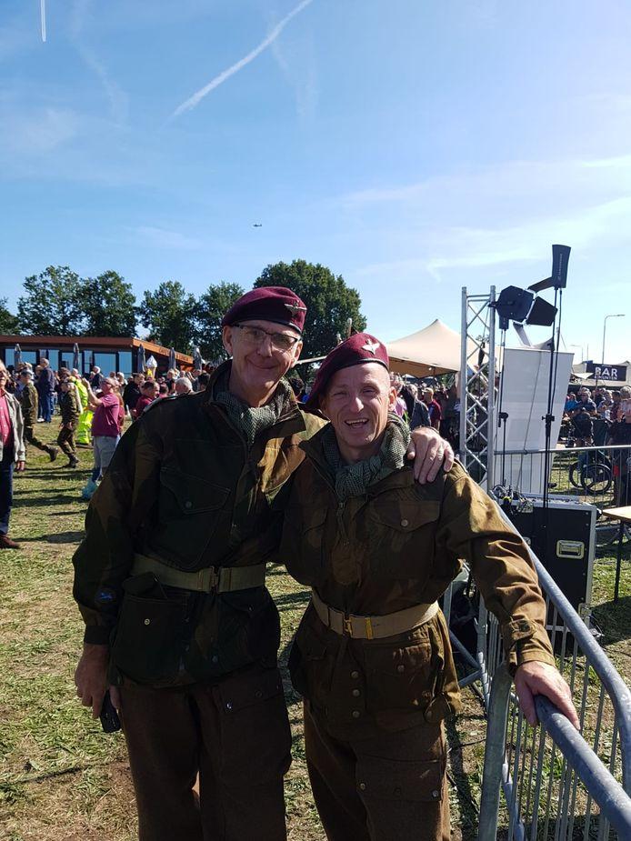 Lee Townsend (links) en Edwin Vermetten (rechts).
