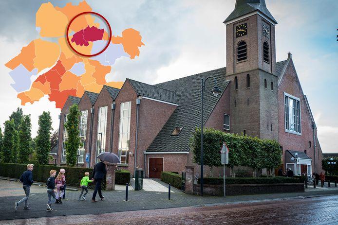 De Dorpskerk is een van de grootste kerkgebouwen van Nederland.