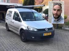 Bedrijfsbus Stefan na diefstal snel teruggevonden, Deventenaar: 'Klussen van vrijdag nu op zaterdag'