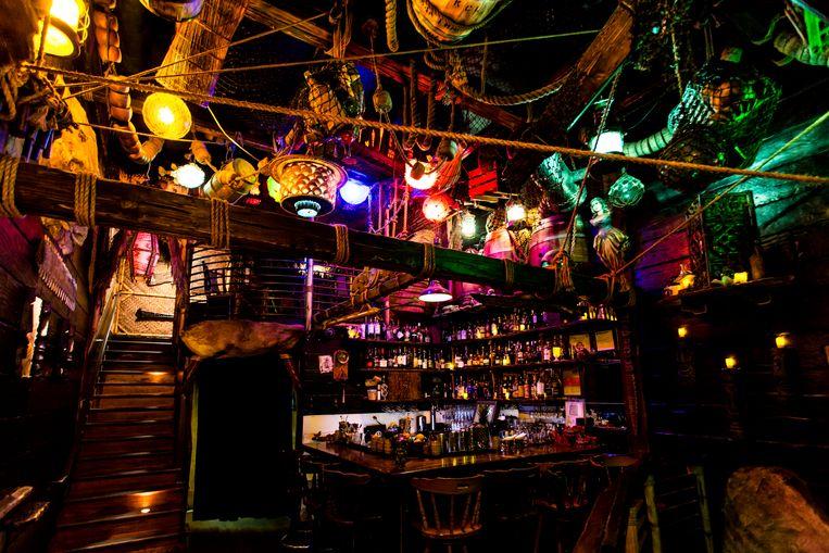 Smuggler's Cove in San Francisco heeft standaard 600 rumsoorten op voorraad. Beeld RV/Kelly Puleio