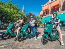 Geen deelscooters in Duindorp en Schilderswijk uit angst voor vernielingen