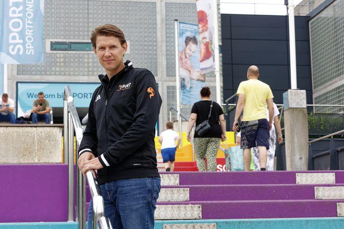 Robert Barclay bij het Sportiom in Den Bosch.