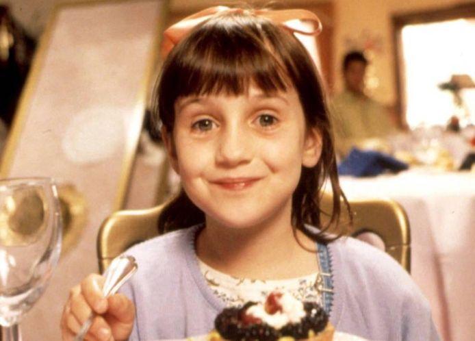 Een beeld uit de film 'Matilda', gebaseerd op een van de bekendste werken van Roald Dahl