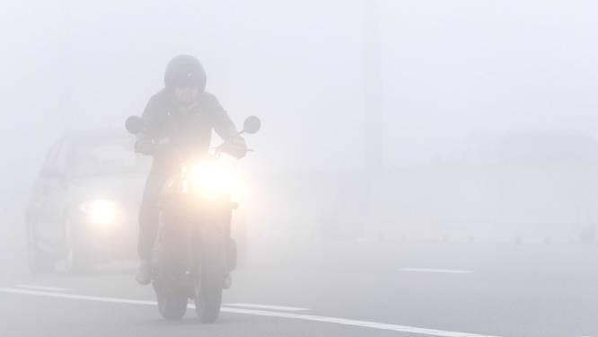 Mist veroorzaakt jaarlijks 160 slachtoffers op de weg