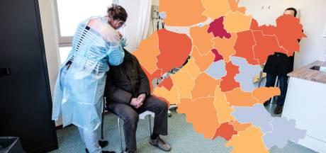 KAART | Twee gemeenten in IJsselland vallen in negatieve zin op, opnieuw geen positieve tests op Urk