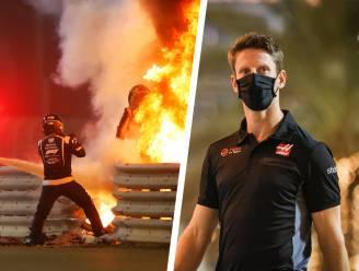 """Grosjean, die dood in de ogen keek, doet uitgebreid verhaal na horrorcrash: """"Ik wilde niet eindigen als Niki Lauda"""""""