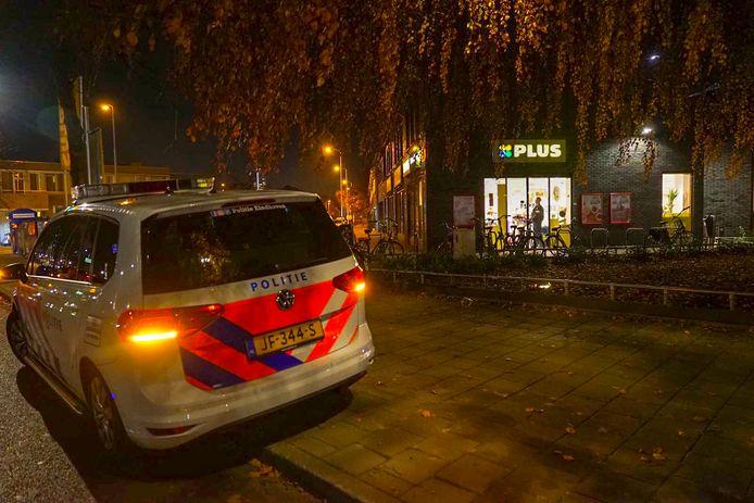 Gewapende overval op supermarkt in Eindhoven.