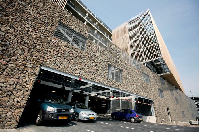 De parkeergarage bij het St. Antoniusziekenhuis in Nieuwegein.