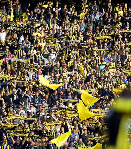 Supportersvereniging Vitesse blij: 3000 fans in GelreDome voor bekerfinale is stap in goede richting