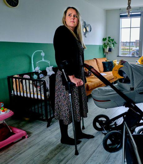 Chantal kreeg vreselijke pijn na bevalling: 'Niemand wist wat er aan de hand was'