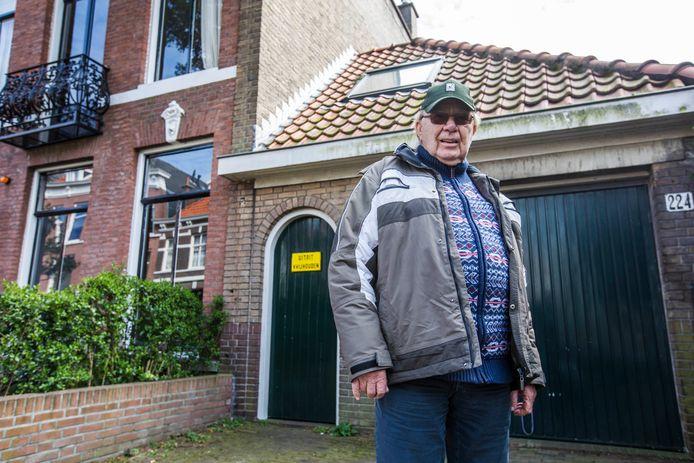 Piet Coelewij was in WO2 ooggetuige van het bombardement in de Malakkastraat