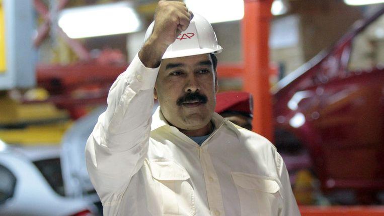 De Venezuelaanse president Nicolas Maduro Beeld epa
