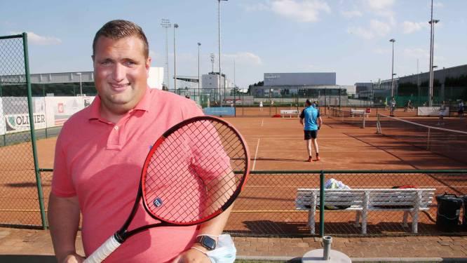 """Gauthier Van Rijckeghem is een van de toppers in West-Vlaanderen: """"Dubbelspel is voor mij puur fun"""""""