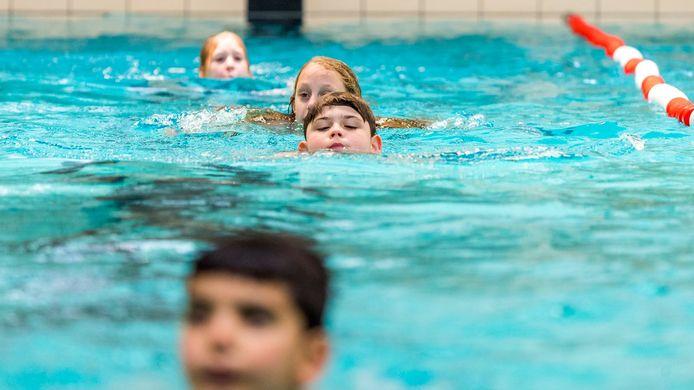 Zwemlessen bij 't Gooische Bad