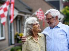 Diamanten paar uit Heeze getrouwd in en met de Brabantsedag