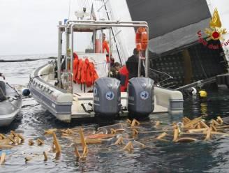 Costa Concordia verspreidt gigantisch veel afval