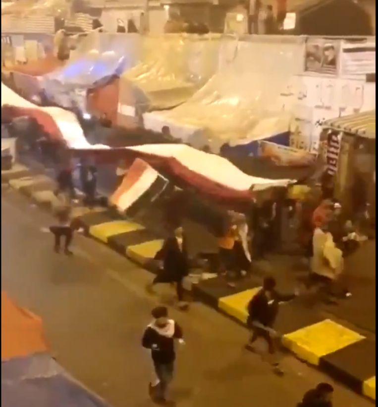 Pompeo publiceert video van Irakezen